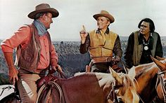 The War Wagon, 1967 with John Wayne, Kirk Douglas and Howard Keel. Kirk Douglas, John Wayne Quotes, John Wayne Movies, Iowa, Stanley Kubrick, Howard Keel, Dimitri, Tv Westerns, Actor John