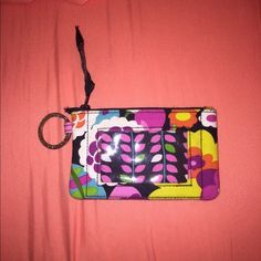 Vera Bradley ID Keychain Very colorful, used this once... Just decided on something I liked better Vera Bradley Bags