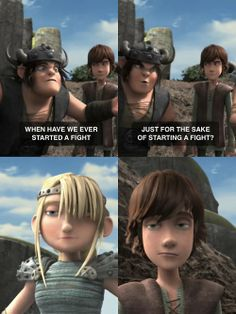 Hahaha!!Loved this part,Hiccup and Astrid's expressions are killing me!!! XD XD XD XD