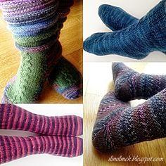 Yün çorap nasıl örülür, anlatımlı çorap örgüsü. Socken knitting tutorial.