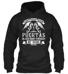 PUERTAS - Blood Name Shirts #Puertas