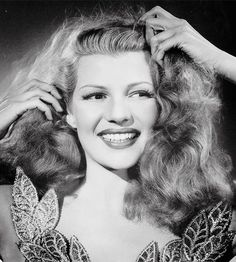 """Rita Hayworth publicity photo for """"Down to Earth"""" (1947)"""