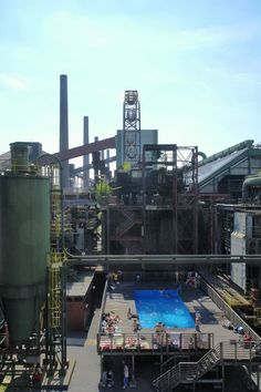 The works swimming pool, designed by Dirk Paschke and Daniel Milohnic, http://www.zollverein.de