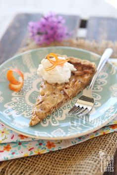 Almond Toffee Tart from Our Best Bites