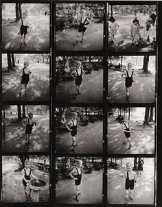 :: Diane Arbus contact sheet :: @Kelsey Myers Granlund this makes me appreciate Diane Arbus a million times more.