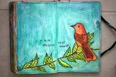 This journal page resonates with me because I often feel guilty for taking a break...