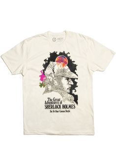The Adventures of Sherlock Holmes on a tee shirt! $28