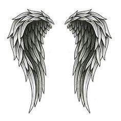 wings and cross   angel wings tattooed on back angel wings tattoo cute cross symbol and …