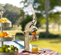 Oversized Juicer from Pottery Barn