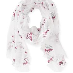 Boutique flamingo scarf Beautiful scarf. Thin, perfect for summer! Flamingo print. Accessories Scarves & Wraps