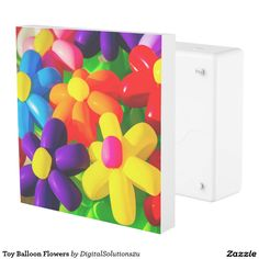 Toy Balloon Flowers Outlet Cover