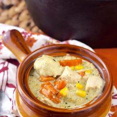 Turkey Dumpling Soup - Wine & Glue