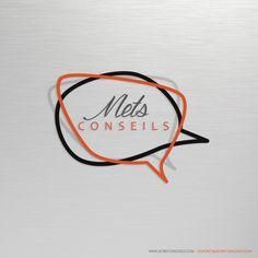 Création de logo pour l'entreprise Mets Conseils. Visitez le site : www.metsconseils.com