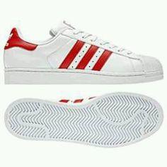 Adidas SUPERSTAR II White/Cardinal (Maroon) | My Adidas | Pinterest | Adidas  superstar, Cardinals and Adidas