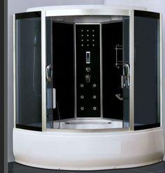 ★NEW 2014 STEAM SHOWER CUBICLE ENCLOSURE BATH CABIN ★1500mm x 1500mm★Radio ★2061