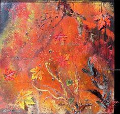 """ Splendide Agonie "" ( Splendid Agony ) - MayaSunn Oeuvre D'art, Les Oeuvres, Creations, Abstract, Gallery, Artwork, Painting, Summary, Work Of Art"