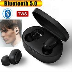 Bluetooth 5 0 Headset Wireless Earphones Mini Earbuds Ipx6 Stereo Headphones In 2020 Stereo Headphones Earphone Earbud Headphones