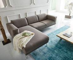 Ecksofa Lordina 260x185 Grau Ottomane Links Premium Möbel Sofas Ecksofa  Googlen Für Besten Preis!