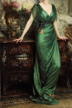 """antiquelullaby: """" Mrs Ernst Guiness (detail) - Sir Francis Bernard Dicksee (1853-1928) """""""