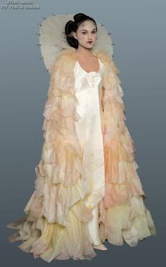Star Wars Padme Amidala Parade Celebration Dress -she had such an amazing wardrobe for these films.