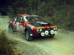 San Remo 1980 - Pregliasco Mauro - Reisoli Vittorio icon Alfa Romeo Alfetta GTV Turbo