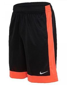 Nike Fastbreak Basketball Shorts Mens 641421-013 Black Lava Apparel Size L