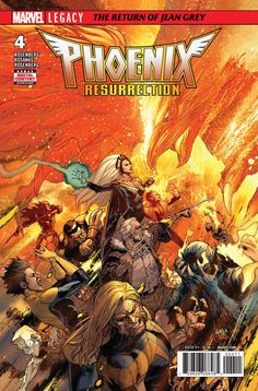 Phoenix Resurrection: The Return of Jean Grey #4 - Chapter Four (Issue)