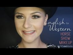 English to western horse show makeup video tutorial. Check out these tips so you can look your best in the horse show ring!
