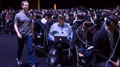Mark Zuckerberg trommelt für Virtual Reality - und ein bisschen für Samsung | heise online