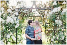 Corvallis engagement photos at Avery Park