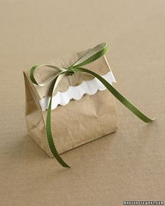 Simple but cute packaging.