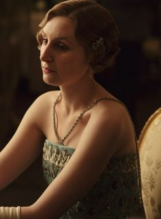 Laura Carmichael as Lady Edith Crawley inDownton Abbey(TV Series, 2013).