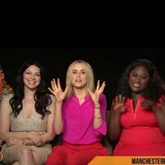 Laura Prepon, Taylor Schilling and Danielle Brooks of #oitnb
