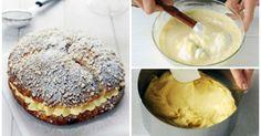 Rezept für französischen Sahnekuchen aus Saint-Tropez
