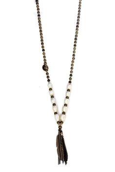 Buy Lady Lulu Pearl Shikoba Beaded Necklace - Pearlfor R700.00
