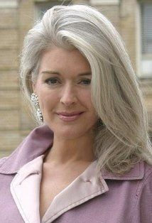 Incredible Linda Fischer Actress – someday when I let my hair go gray — this is what I hope it looks like! The post Linda Fischer Actress – someday when I let my hair go gray — this is . Long Gray Hair, Grey Wig, Silver Grey Hair, Grey Hair Over 50, Ash Grey, Silver Color, Hairstyles Over 50, Short Hairstyles, Pretty Hairstyles
