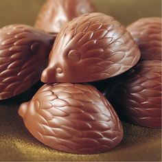 Hedgehog chocolates♥
