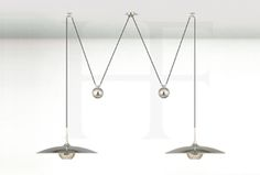 Hector Finch. I love everything about this Onus pendant light from Hector Finch – it's very practical being easily adjustable, amazingly well made (in Germany) and it's very beautiful – you can't ask for more.  www.hectorfinch.com