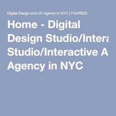 Home - Digital Design Studio/Interactive Agency in NYC