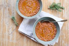Tuscan White Bean Soup Recipe | soup a doup | Pinterest | White Bean ...