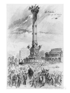 Album of the Siege of Paris, the Bastille, 26th, 27th, 28th February 1871 Giclee Print by Gustave Doré at AllPosters.com