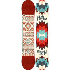 Work your magic from the terrain park to frozen steep slopes with the Nitro Women's Spell Snowboard. Snowboarding Style, Snowboarding Women, Snowboard Design, Ski And Snowboard, Freestyle Snowboard, Snow Gear, Winter Love, How To Make Snow, Snow Bunnies