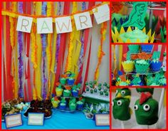 great dino party ideas