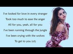 Selena Gomez, Marshmello - Wolves (Lyrics) - YouTube Selena Gomez Boyfriend, Songs For Boyfriend, Selena Gomez Music Videos, Ghost Of You, Music Aesthetic, All Songs, She Song, Looking For Love