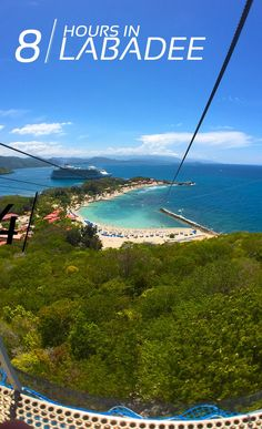 Make the most of your day in port with this expert guide of the best way to maximize your vacation in Labadee, Haiti. #carribeancruise