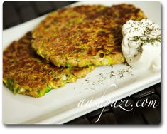 Persian recipes from AAshpazi.com : Zucchini burger Yum!