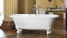 V+A Richmond classic double ended freestanding bath