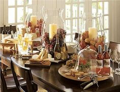 ideas for cheese table display antipasto Wine And Cheese Party, Wine Tasting Party, Wine Cheese, Tasting Table, Cheese Table, Cheese Platters, Wine Barrel Lazy Susan, Wein Parties, Wood Pizza