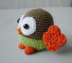 Amigurumi Baby Owl by Pepika, via Flickr