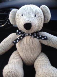 My latest bear fell head over heels for him he has gone to a good home tho!!